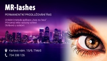 Reklama MR-Lashes
