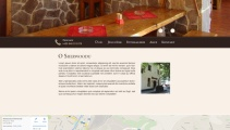Restaurace Sherwood (Webdesign)